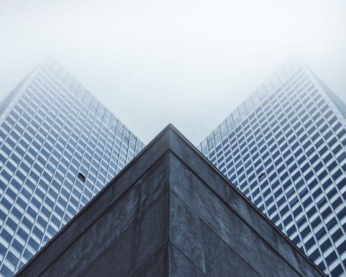 Office Blocks in Cloud